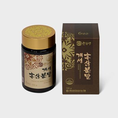 "GINSENG ROUGE ""POUDRE DE GINSENG ROUGE 120g"""